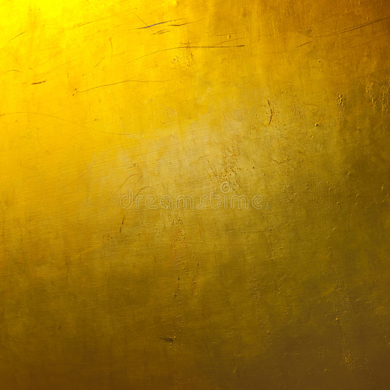Bright Plain Gold Texture Wallpaper