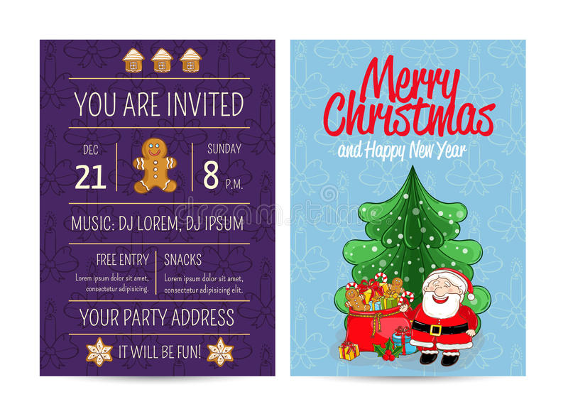 Bright promotion flyer for club christmas party stock vector download bright promotion flyer for club christmas party stock vector illustration of happy cartoon stopboris Choice Image