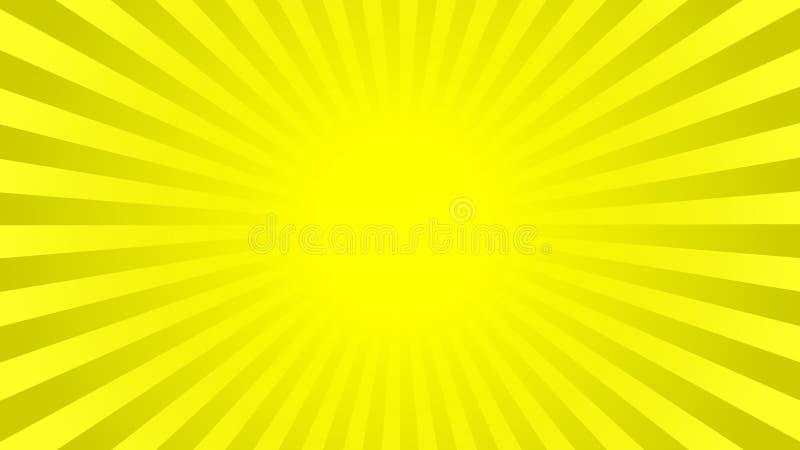 Bright rays background stock illustration