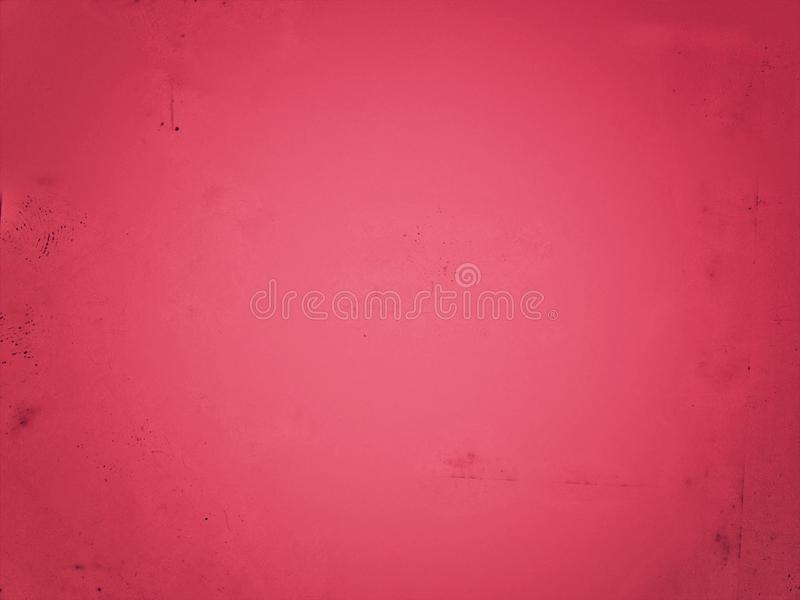Bright red blurred with stain on empty background. Abstract surface wallpaper. stock images