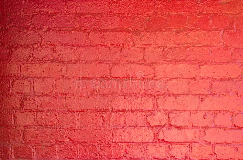 Bright Color Textured Background, Crimson Red Painted Wall