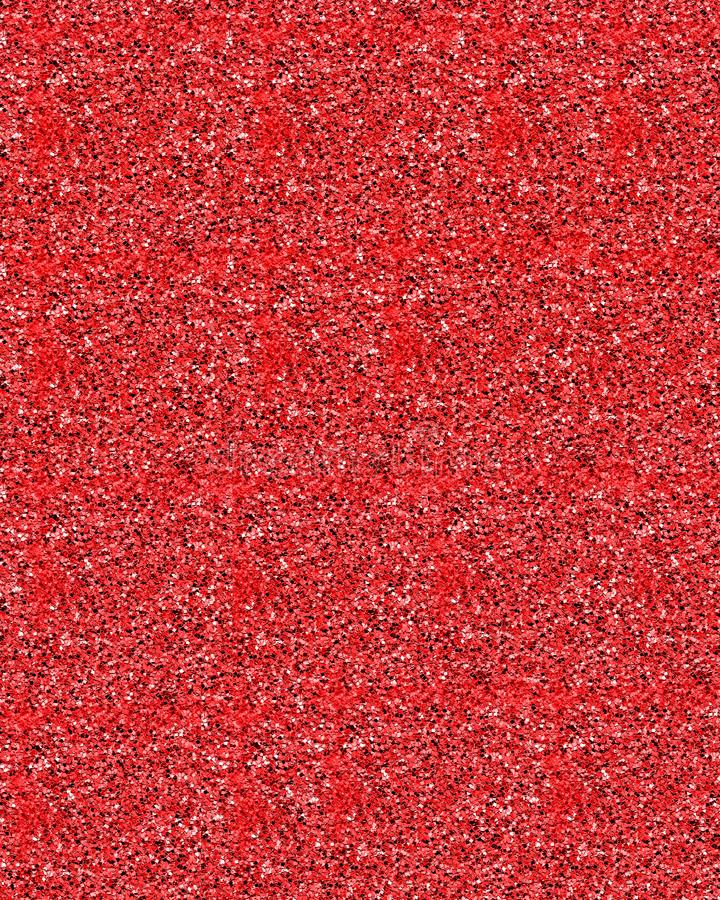 Bright red glitter background stock photography