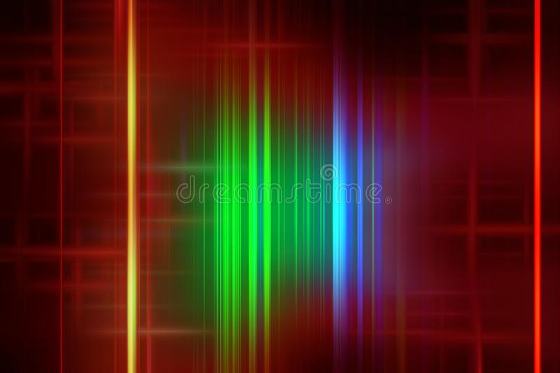 Bright red green gold background, vivid colors, shades, graphics. Abstract bright background in colorful gold, yellow, red, orange hues. Abstract lines texture vector illustration