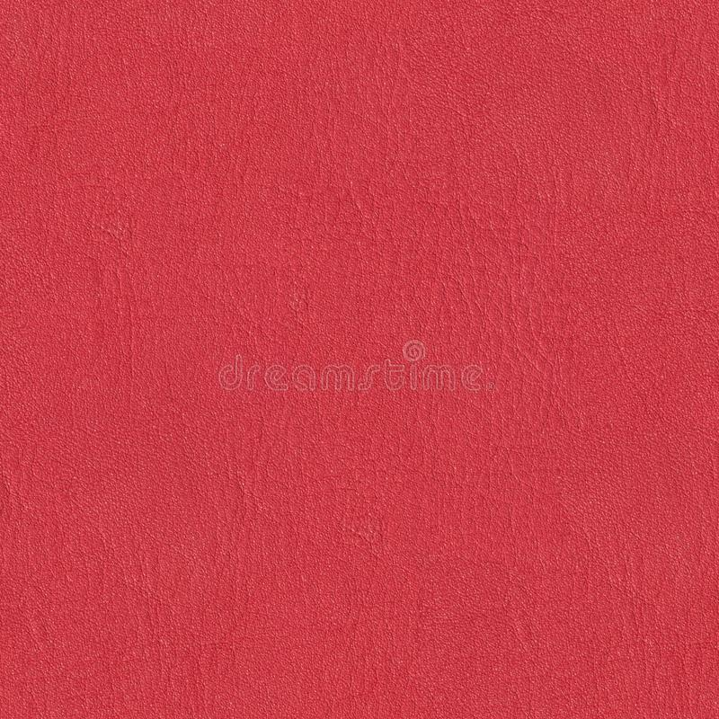 Bright red leather background. Seamless square texture, tile ready. High resolution photo royalty free stock photos