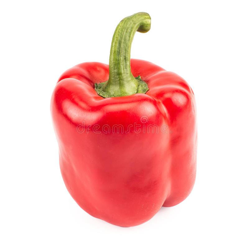 Bright red pepper royalty free stock photography