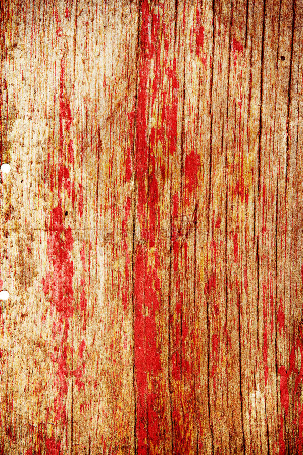 Free Bright Red Wooden Panel Royalty Free Stock Photos - 16543148