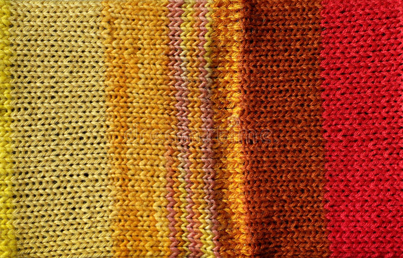 Download Bright Red And Yellow Crochet Stitch Background Royalty Free Stock Image - Image: 10064496