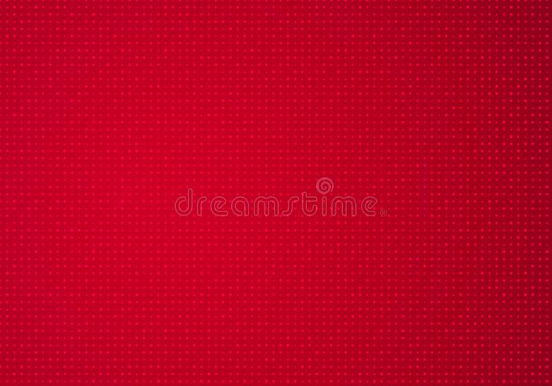 Bright Ruby Horizontal Vector Background with Geometric Pattern. Red Texture. royalty free illustration