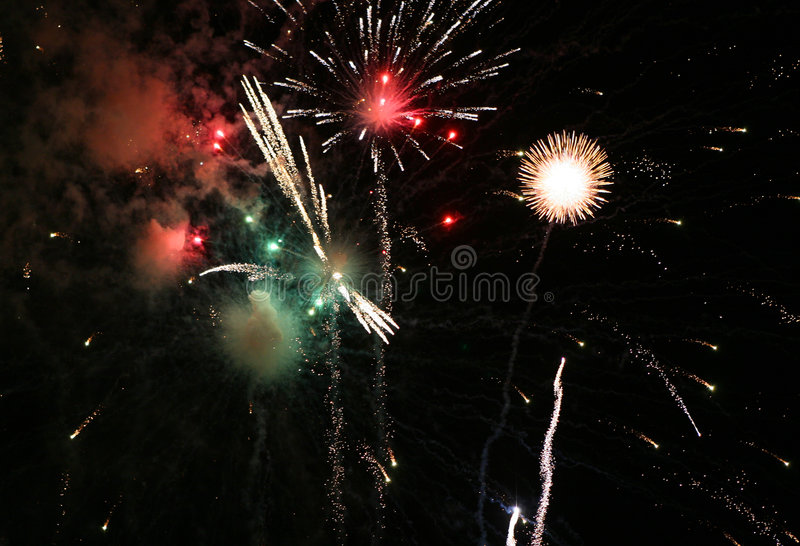 Download Bright Sky stock image. Image of fourth, independence, fireworks - 186135