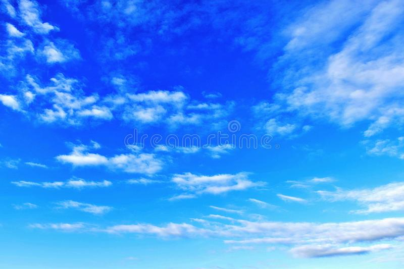 Bright sky. The bright morning sky in comfort stock photo