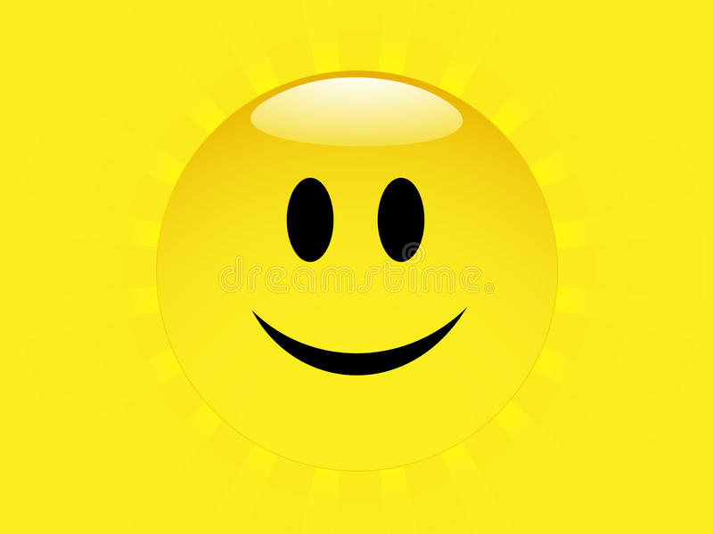 Download Bright Smilie face stock vector. Image of expression - 13259415