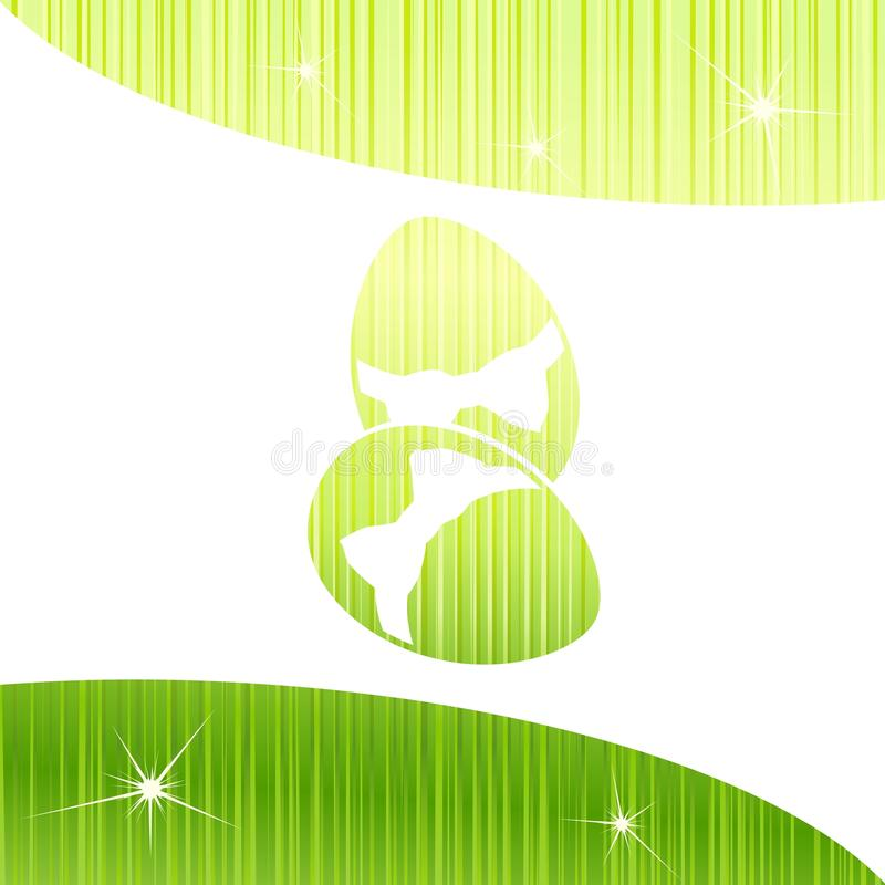 Download Bright Sparkly Easter Background In Green Stock Vector - Image: 18670391
