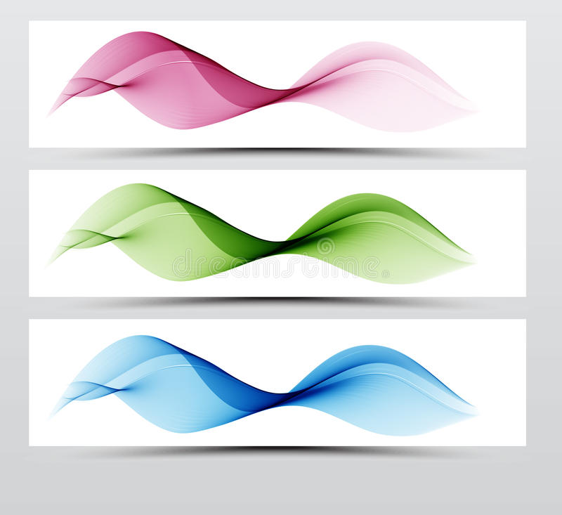 Bright speed web swoosh futuristic wave line set. Dynamic lines collection in blue and pink color. vector illustration