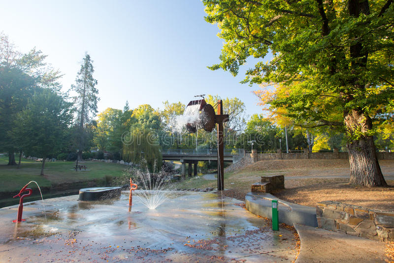 Bright Splash Park royalty free stock images