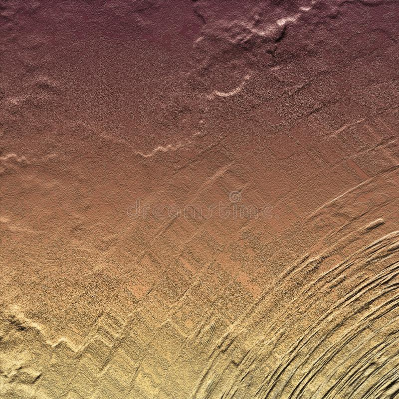Bright striped artwork surface. Hand drawn abstract painted surface. Brush strokes artwork. royalty free stock photo