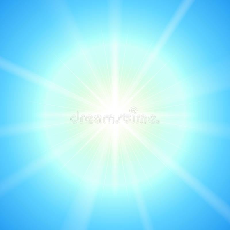 Download Bright Sun Vector Template. Stock Vector - Illustration: 25978942