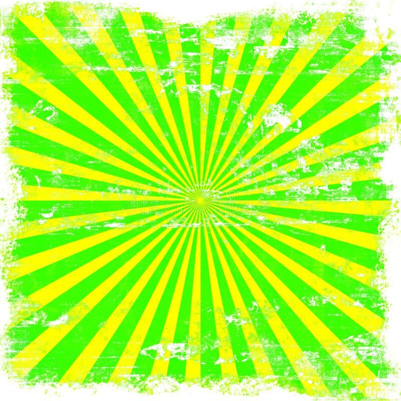Bright Sunburst Grunge