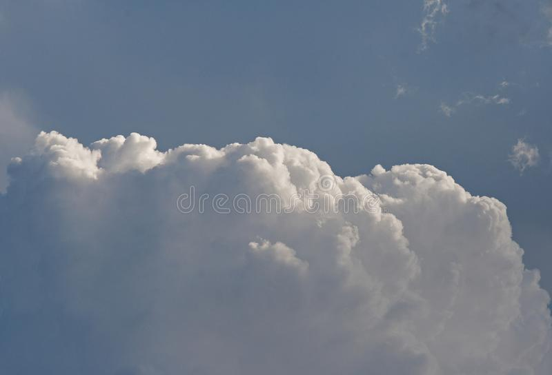STACKED CUMULUS CLOUD royalty free stock photos