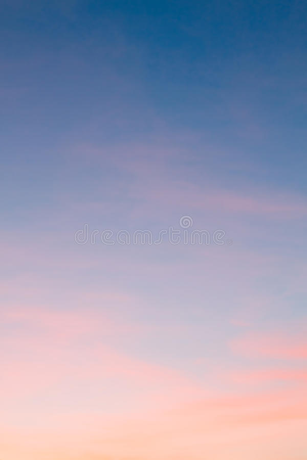 Bright sunset sky royalty free stock photos