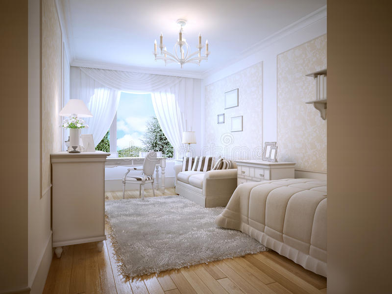 Cream Bedroom Furniture White Walls