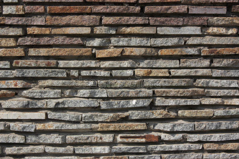 Bright texture from stone masonry