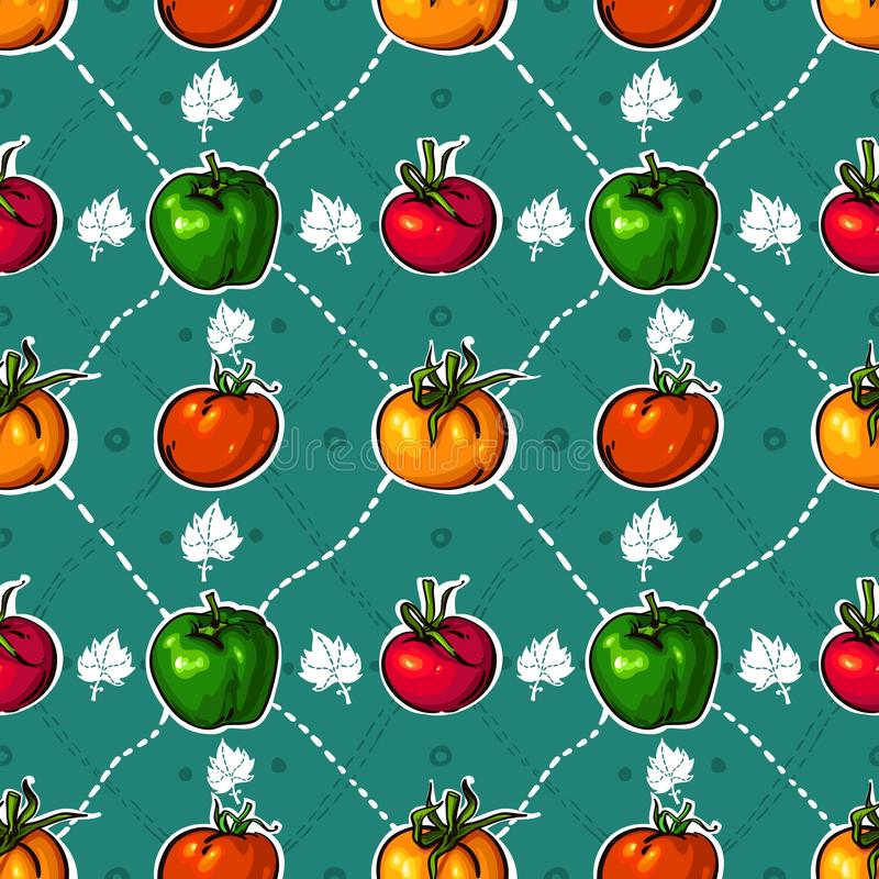 Download BRIGHT Tomatoes. Tasty Vegetables Stock Vector - Image: 23008349