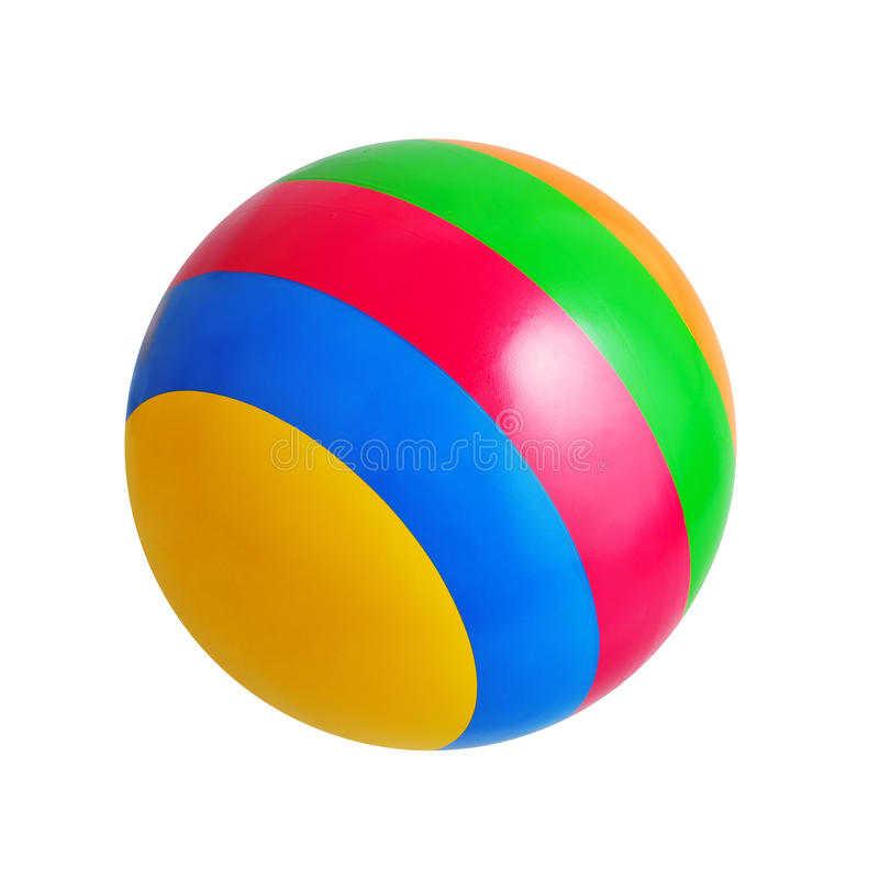 Bright toy ball stock images