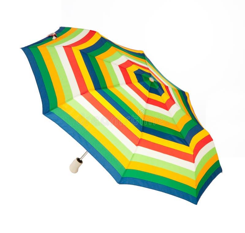 Bright umbrella stock photo