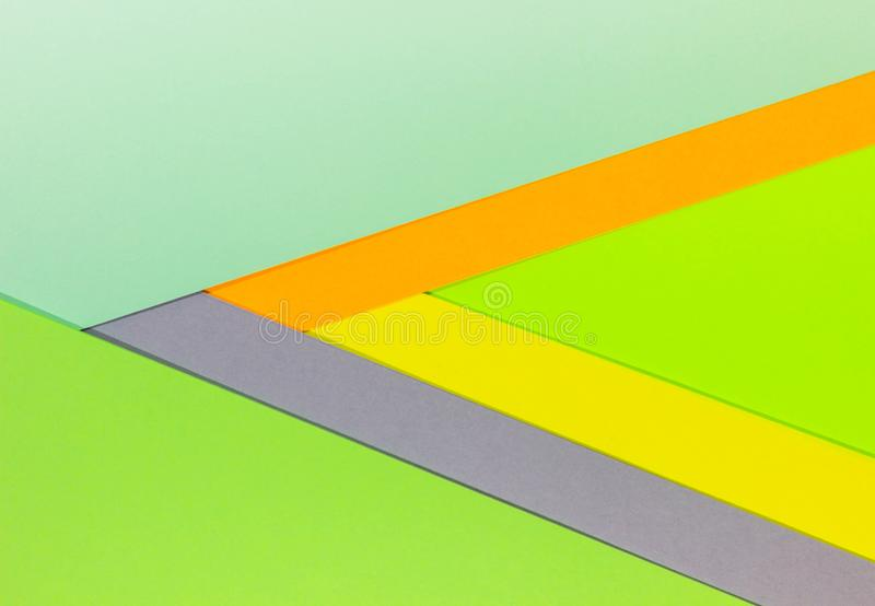 Bright unique colorful background consisting of different saturated colors. Palette of colors. Multicolor background from a paper. Of different colors stock images