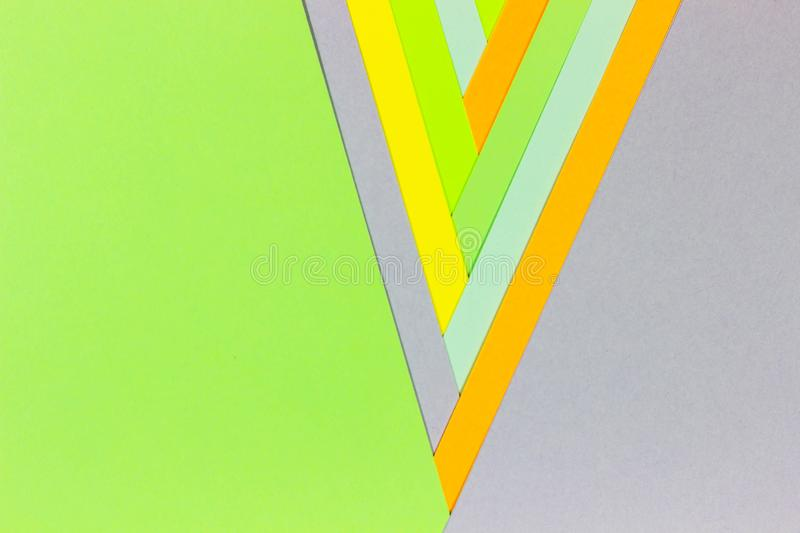 Bright unique colorful background consisting of different saturated colors. Palette of colors. Multicolor background from a paper stock photography