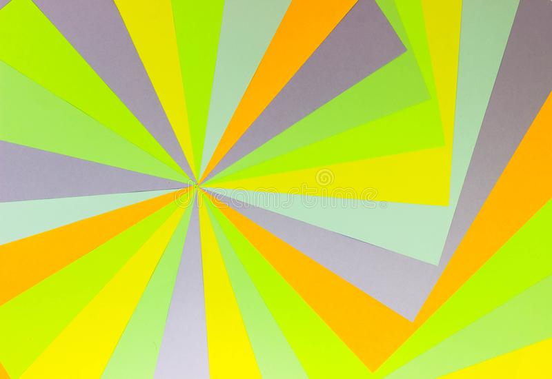 Bright unique colorful background consisting of different saturated colors. Palette of colors. Multicolor background from a paper royalty free stock image
