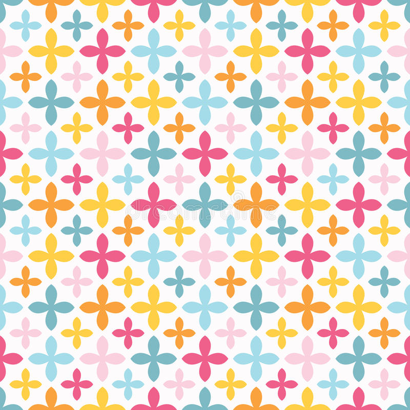 Free Bright Vector Seamless Pattern. Endless Texture Royalty Free Stock Photo - 51885595