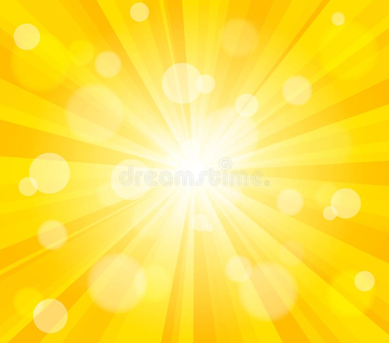 Download Bright Vector Sun Effect Background Stock Vector - Image: 27834281