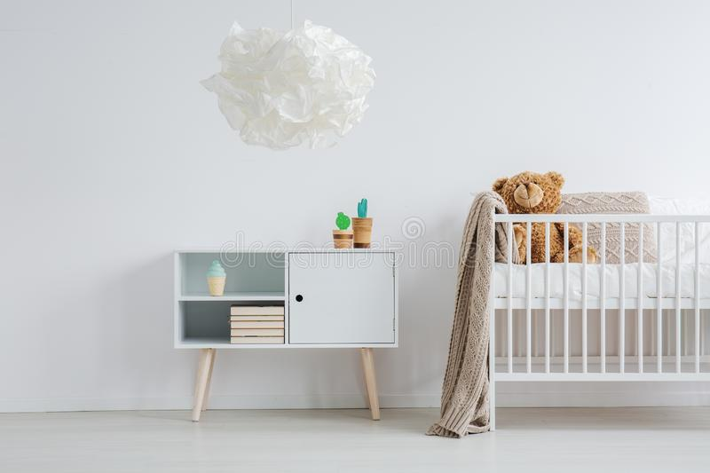 Bright and warm nursery royalty free stock image