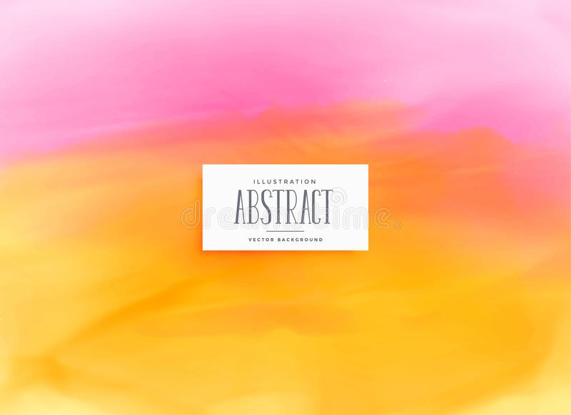 Bright watercolor abstract background design vector illustration