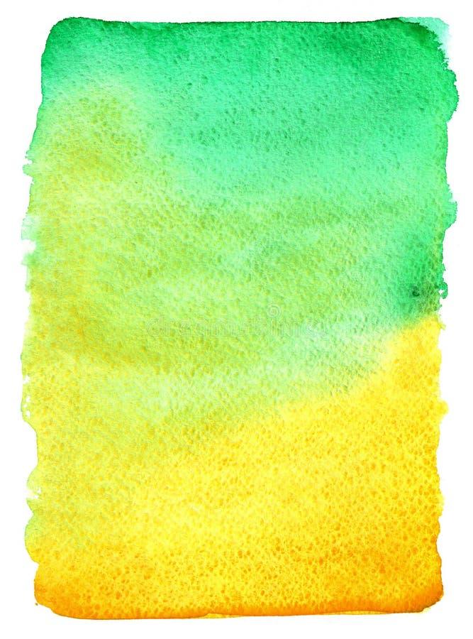 Bright watercolor paint gradient. Paint stain. Element for your design vector illustration