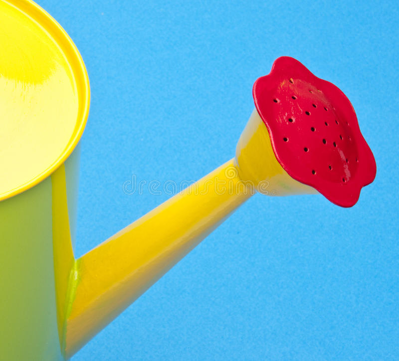 Download Bright Watering Can Spout stock image. Image of water - 14310383