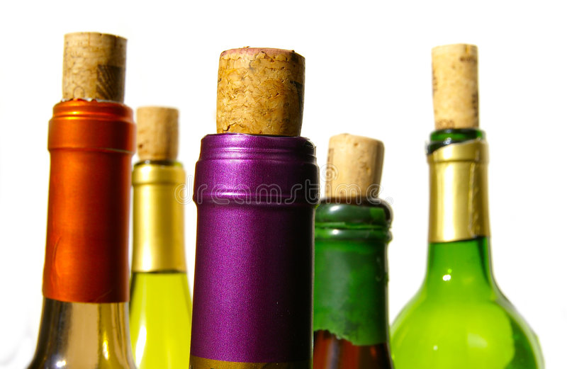 Bright wine royalty free stock photography