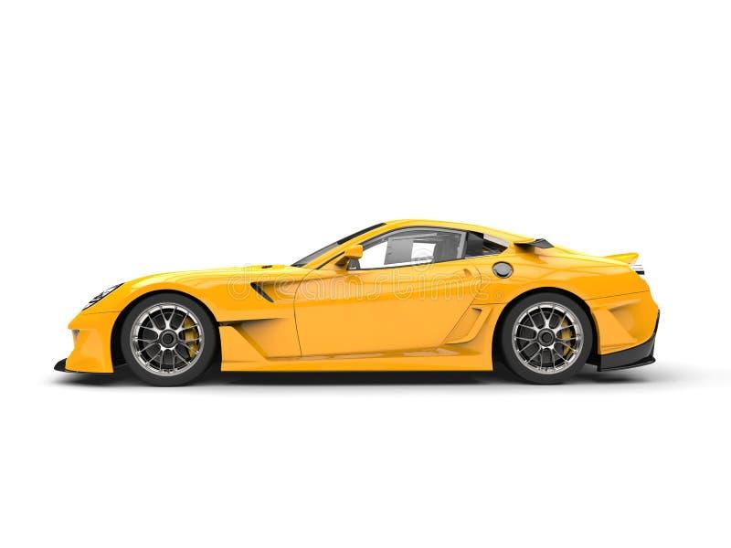 Bright Yellow Modern F...