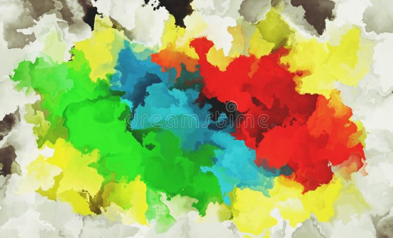 Bright yellow red green colors suitable for abstract themed backgrounds. Bright yellow red green colors suitable abstract themed backgrounds stock image