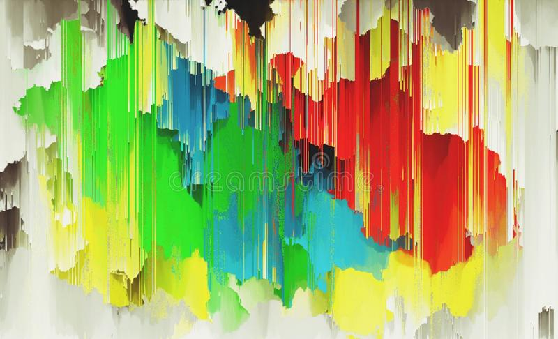 Bright yellow red green colors suitable for abstract themed backgrounds. Bright yellow red green colors suitable abstract themed backgrounds stock illustration