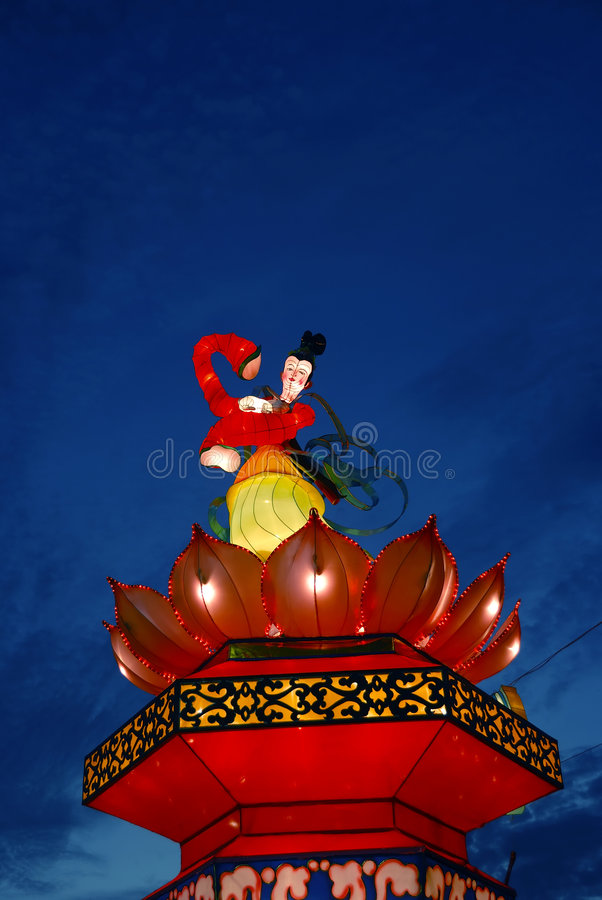 Download Brightly Colored Lantern Royalty Free Stock Photography - Image: 3244637