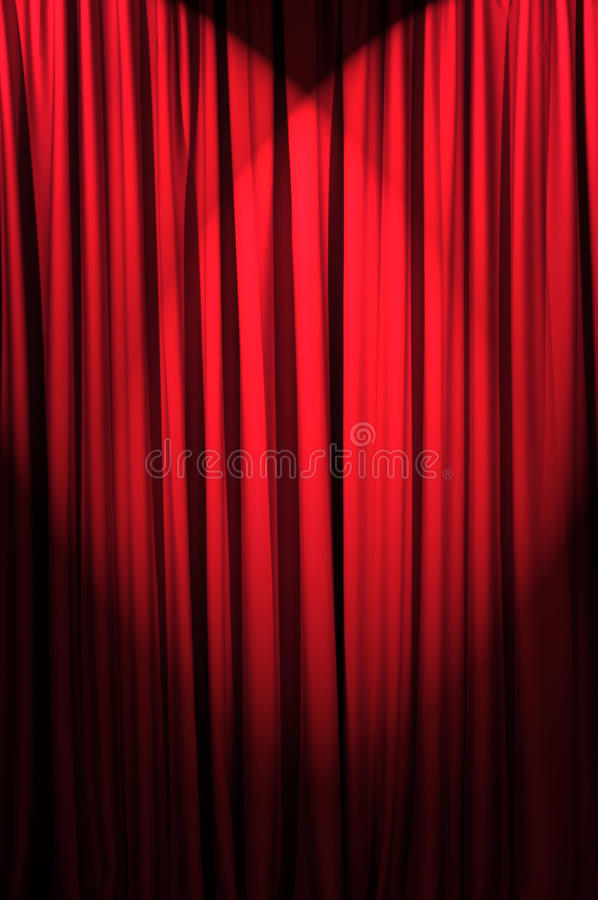 Download Brightly Lit Curtains - Theatre Concept Stock Image - Image: 23111659