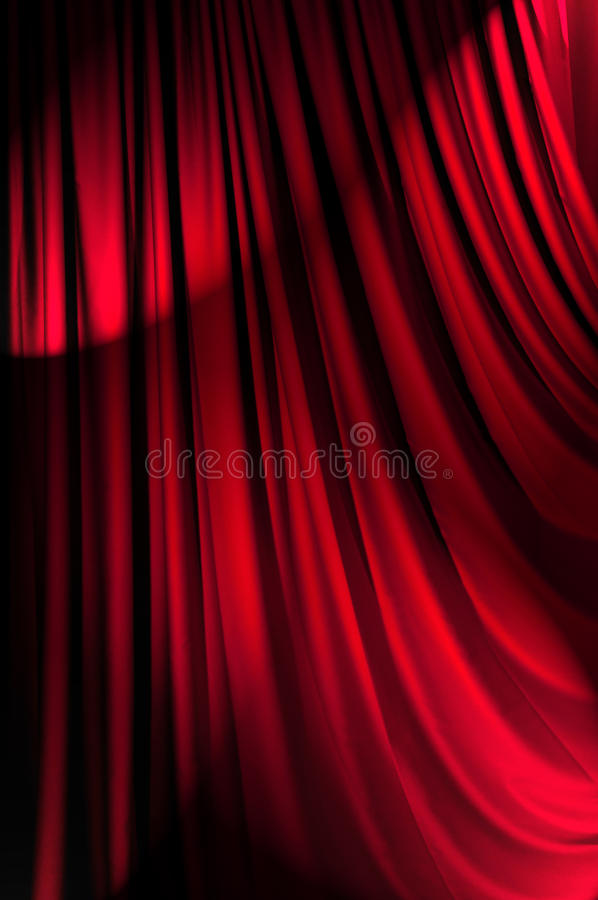 Download Brightly Lit Curtains - Theatre Concept Stock Image - Image: 23372447