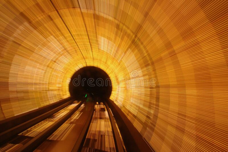 Brightly Lit Tunnel Free Public Domain Cc0 Image