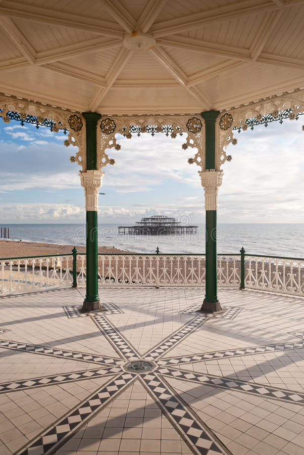 brighton fotografia royalty free