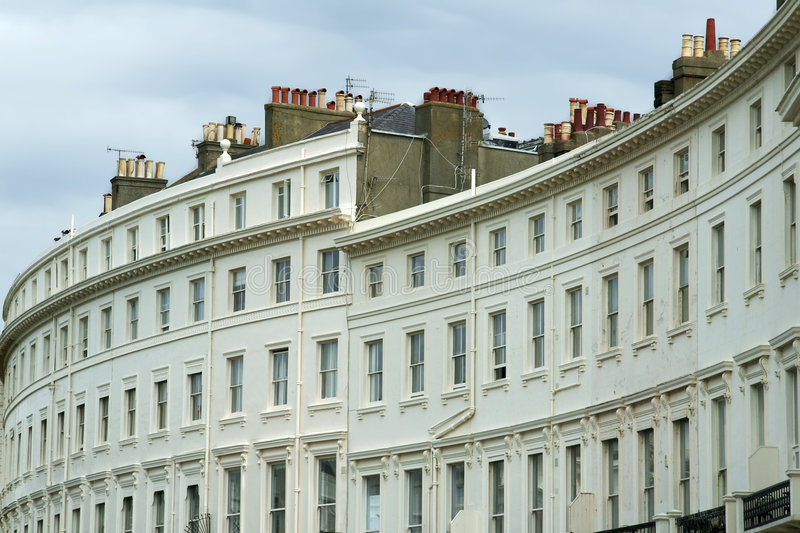 Brighton architecture royalty free stock photography