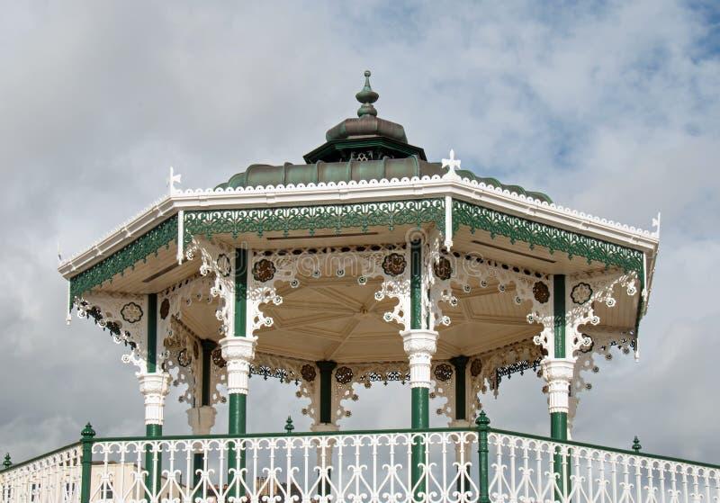 Brighton Bandstand fotografia stock