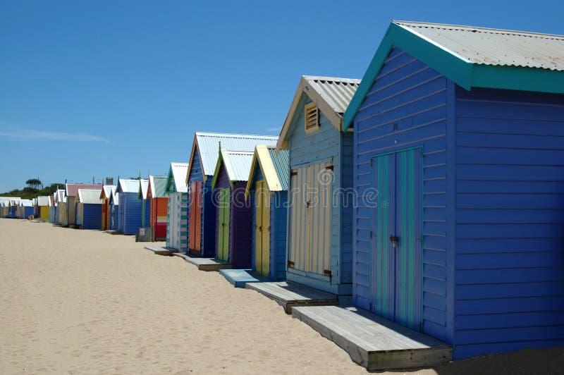 Brighton Beach. stock photography