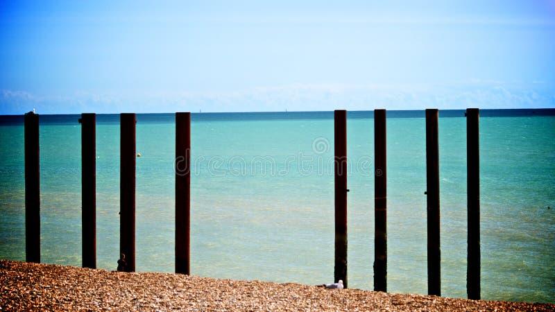 Brighton Beach royaltyfria foton